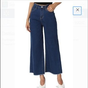 Forever 21 High Waisted Wide Crop Pants